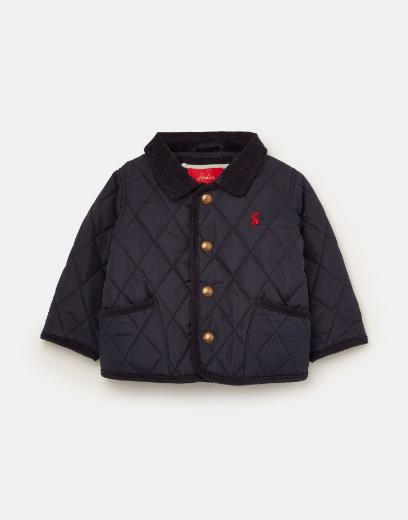 JOULES MILFORD QUILTED COAT NAVY