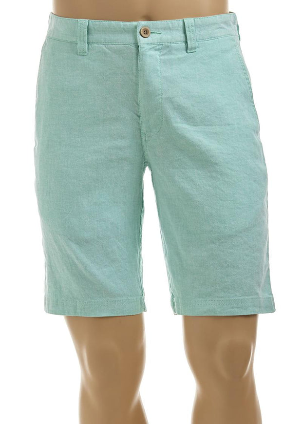 "TOMMY BAHAMA BEACH LINEN 10"" FF SHORT"