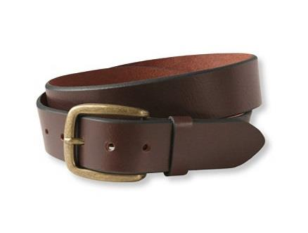 L.L.BEAN 1912 BELT BROWN