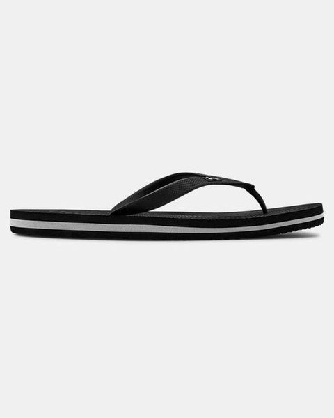 UNDER ARMOUR ATLANTIC DUNE SANDAL BLACK SIDE