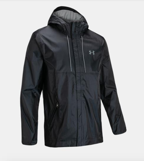 UNDER ARMOUR CLOUDBURST SHELL JACKET FRONT