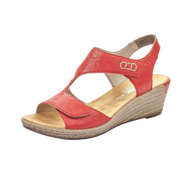 RIEKER - LADIES SANDAL 62468-33