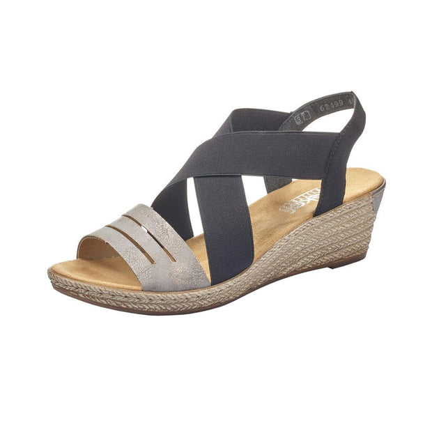 RIEKER - LADIES SANDAL 62499-40
