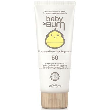 BABY BUM SUNSCREEN SP 50 UNSCENTED