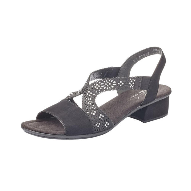 RIEKER - LADIES SANDAL V6216-00