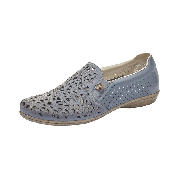 RIEKER - LADIES FLAT 53965-10