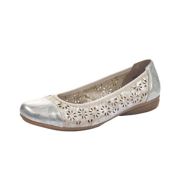 RIEKER - LADIES FLAT L8367-80