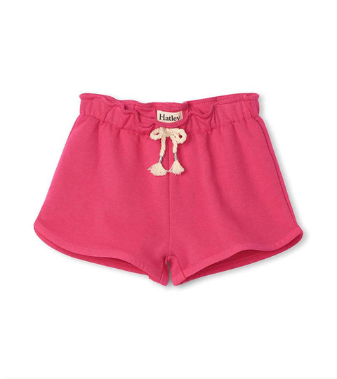 HATLEY - FUCHSIA PAPER BAG SHORT