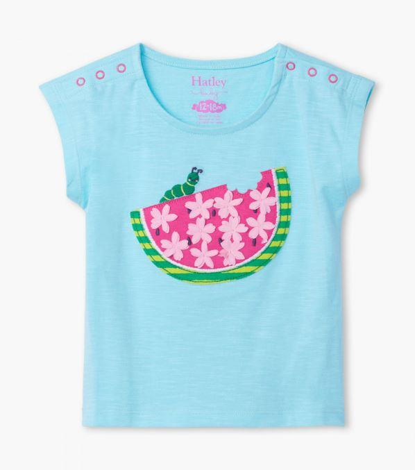 HATLEY - WATERMELON SLICE TEE