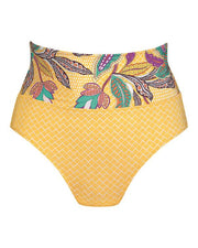 ROSA FAIA SUNNY BOTTOM MANDARIN HIGH WAIST FRONT
