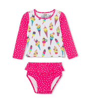 HATLEY - COOL TREATS RASHGUARD SET