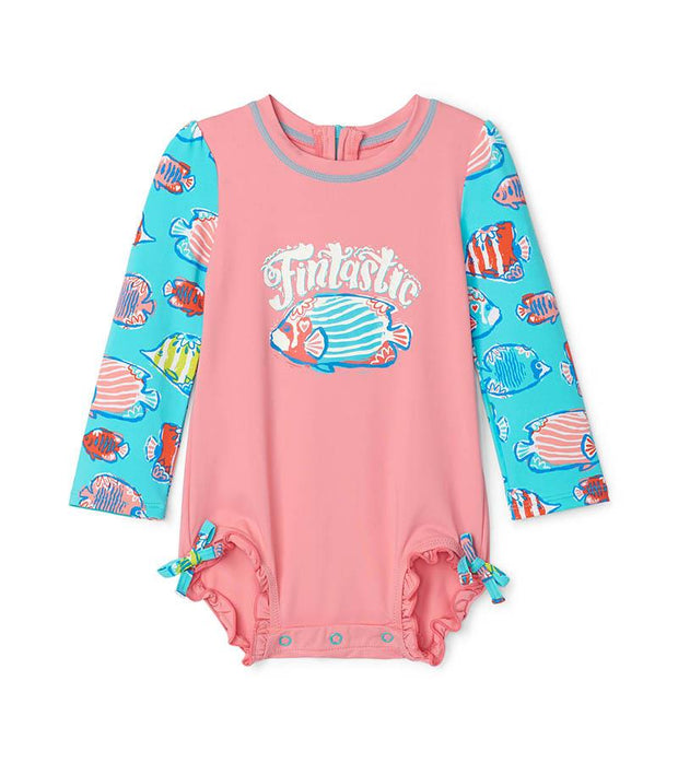 HATLEY - COLOURFUL FISHIES RASHGUARD