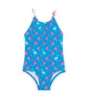 HATLEY - FANCY FLAMINGOS SWIMSUIT