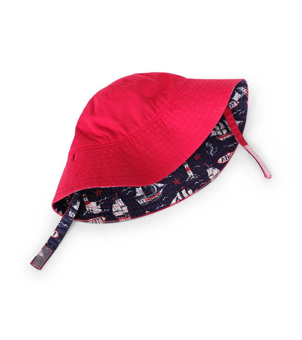 HATLEY - NAUTICAL SHIPS REVERSIBLE HAT