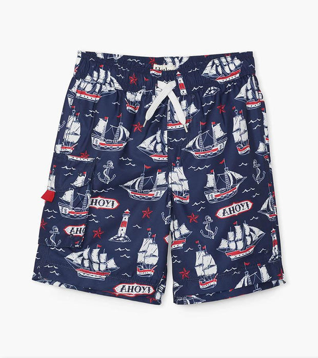 HATLEY - NAUTICAL SHIPS SWIM SHORT