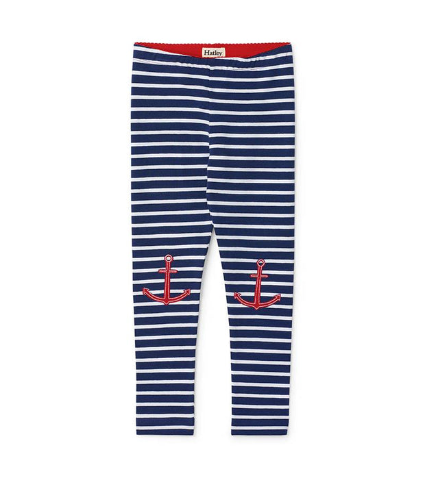 HATLEY NAUTICAL STRIPE LEGGING BLUE