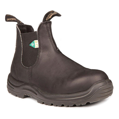 BLUNDSTONE- MEN'S 163- WORK & SAFETY BOOT BLACK