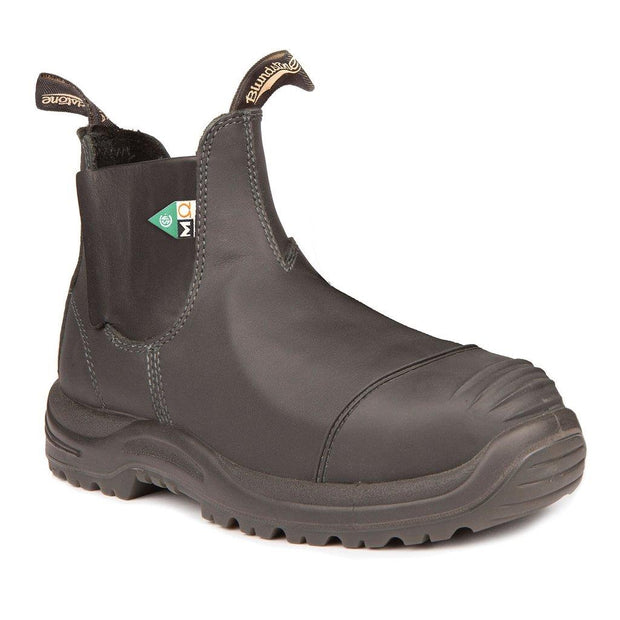 BLUNDSTONE- MEN'S 165- WORK & SAFETY BOOT MET GUARD BLACK