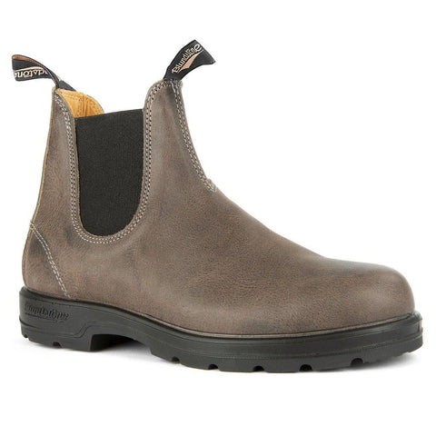 BLUNDSTONE- MEN'S 1469- LEATHER LINED CLASSIC STEEL GREY
