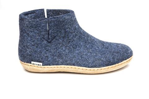 GLERUPS MENS CASUAL ANKLE BOOTS DENIM