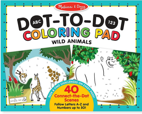 MELISSA & DOUG - DOT 2 DOT COLOURING PAD