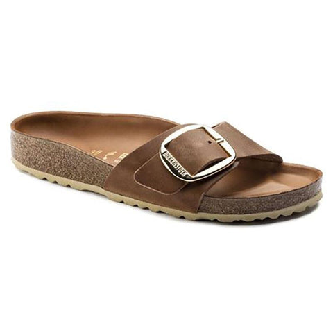 BIRKENSTOCK- MADRID BIG BUCKLE OILED LEATHER