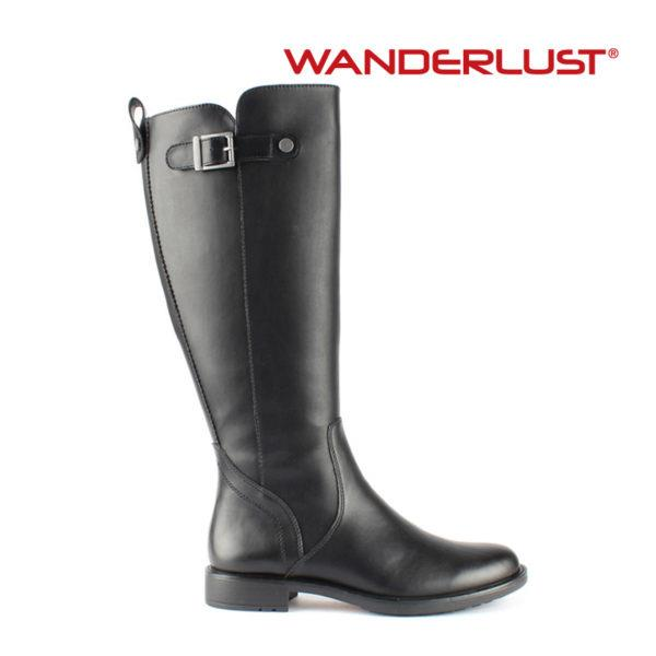 WANDERLUST- EDENA WIDE CALF RIDING BOOT
