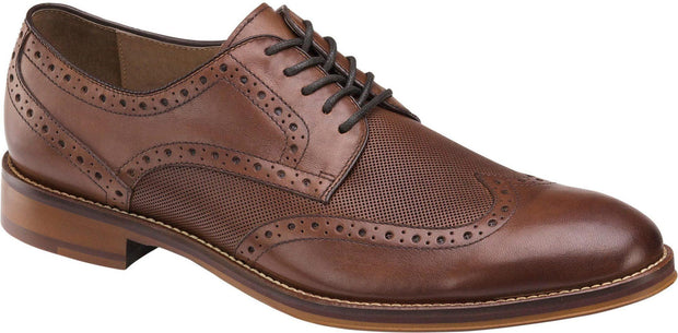 JOHNSTON & MURPHY - CONARD EMBOSSED WINGTIP