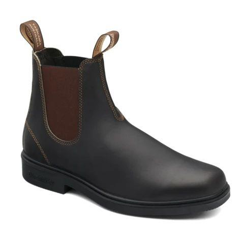 BLUNDSTONE - LADIES 067 DRESS STOUT BROWN BOOT