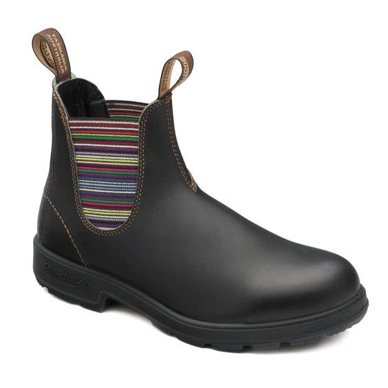 Blundstone- women 1409 - Original Stout Brown Striped Elastic