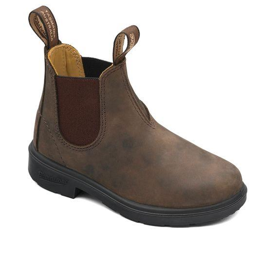 BLUNDSTONE - KIDS 565 RUSTIC BROWN BOOT
