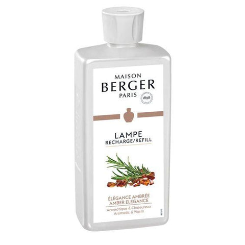 LAMPE BERGER- AMBER ELEGANCE LAMP FRAGRANCE 500ML