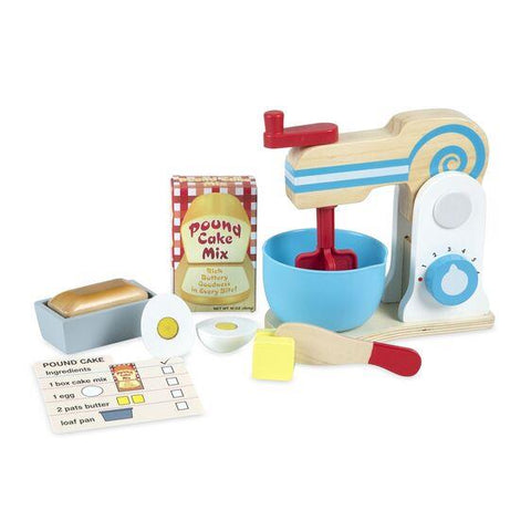 MELISSA & DOUG - MAKE-A-CAKE MIXER SET