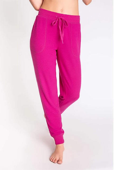 PJ SALVAGE PEACHY IN COLOUR BANDED PANT FRONT