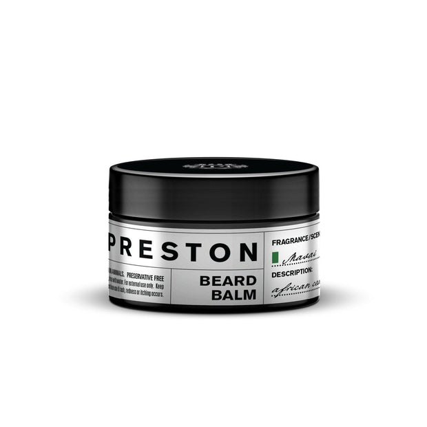 PRESTON MENS BEARD BALM MASAI