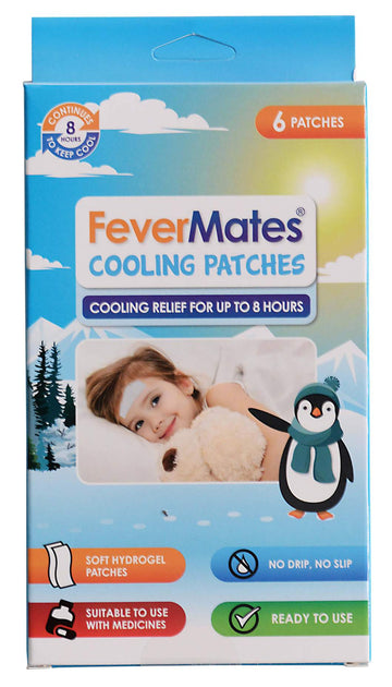 FeverMates - Cooling Patches 6 pack