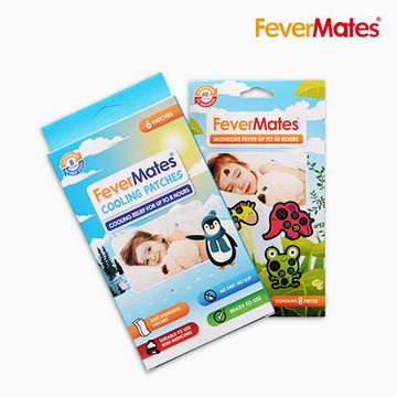 Fevermates Bundle - Temperature Indicators and Cooling Patches