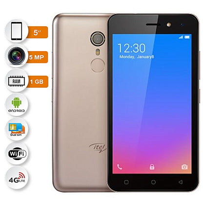Itel IT A33- 5.0 Pouces - Dual Sim - 1Go - 16Go - OR
