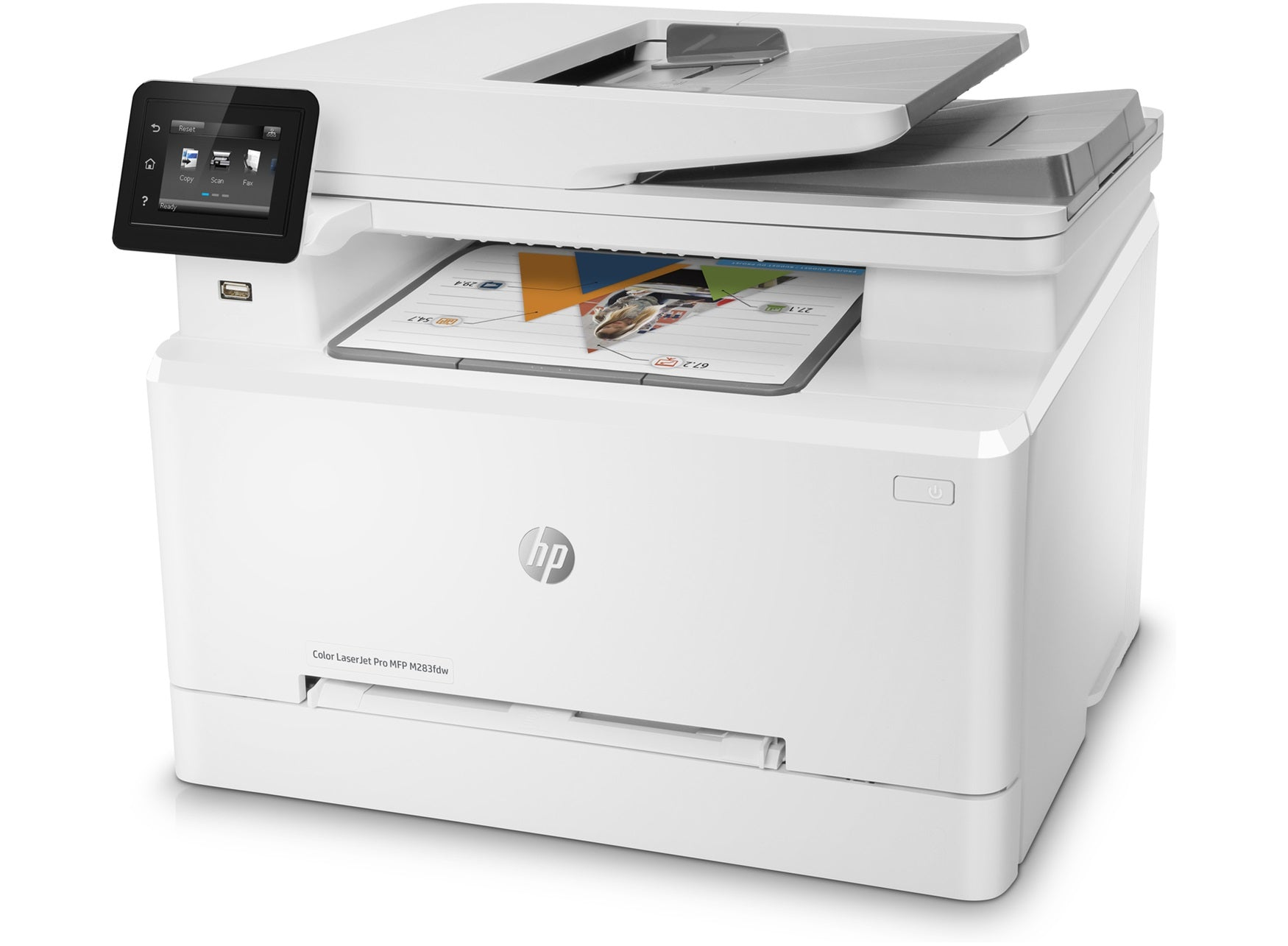 Imprimante multifonction HP Color LaserJet Pro M283fdw
