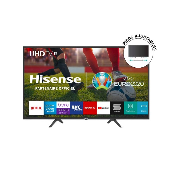Tv Led 65'' Hisense/4K Uhd Tv/Smart/Netflix-Youtub/163Cm/Dolby Vision