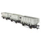 Accurascale BR 24.5T HOP24/HUO Coal Hopper - Grey TOPS- Pack K