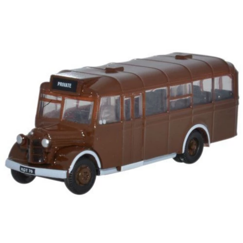 Oxford Diecast NOWB002 Brown As Delivered Bedford OWB