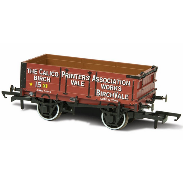Oxford Rail Calico Printers Association 15 4 Plank Mineral Wagon