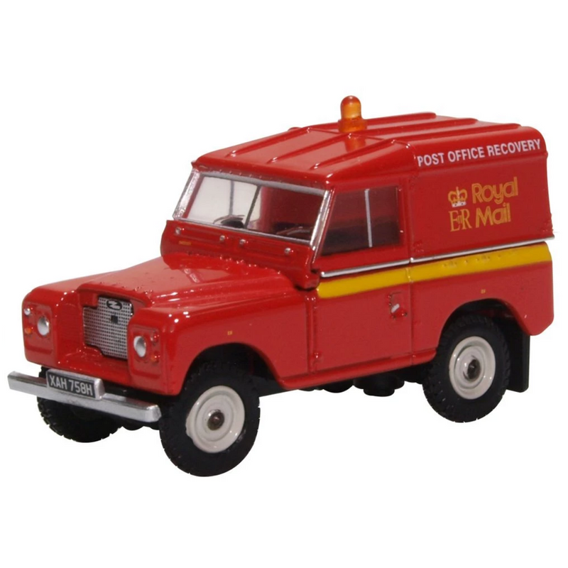Oxford Diecast 76LR2AS002 Land Rover Series IIA SWB Hard Top Royal Mail (PO Recovery)