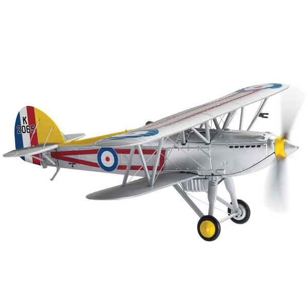 Corgi Hawker Fury MK.I, K2065, RAF No.1 Squadron, 'C' Flight Leaders Aircraft - 100 Years of the RAF