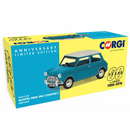 Corgi VA02538 Austin Mini Mk1 Cooper S, Surf Blue - 60th Anniversary Collection