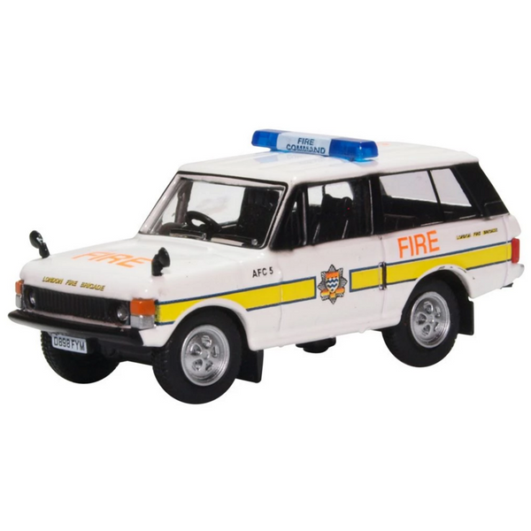 Oxford Diecast 76RCL004 Range Rover Classic London Fire Brigade