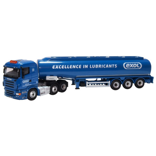 Oxford Diecast 76SHL04TK Scania Highline Tanker Exol