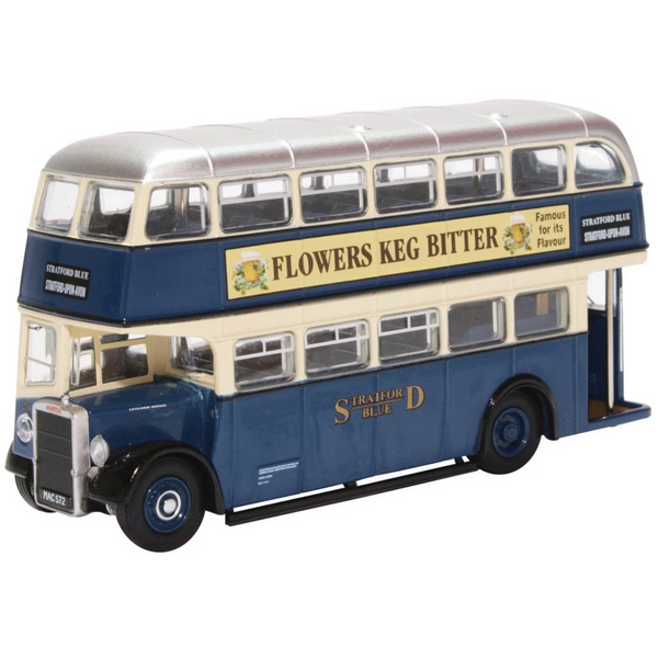 Oxford Diecast 76PD2006 Leyland PD2/12 Stratford Blue