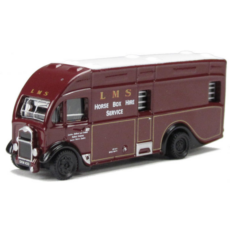 Oxford Diecast Albion Horsebox - LMS